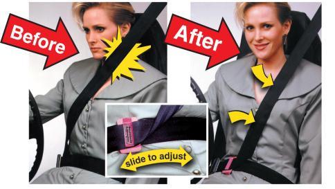 Seatbelt Tension Adjuster, Seatbelt Safety Device, Auto ...